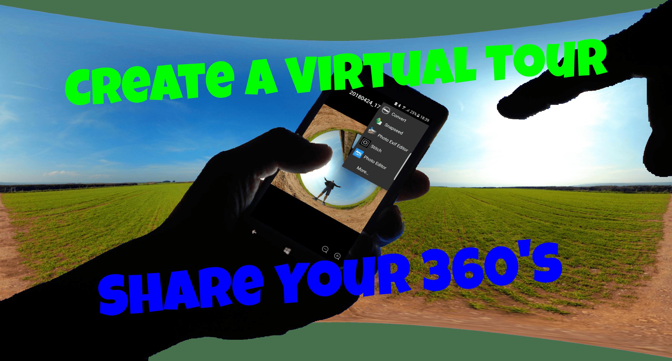 Create Virtual Tours & Share Your 360's - Ash Blagdon 360º